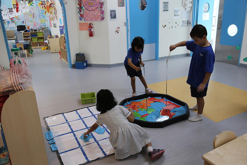 Primary students OWIS_math activity