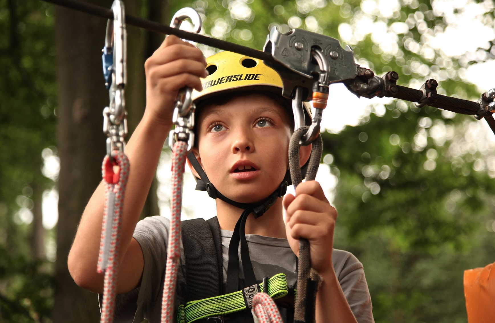 student-in-climbing-harness