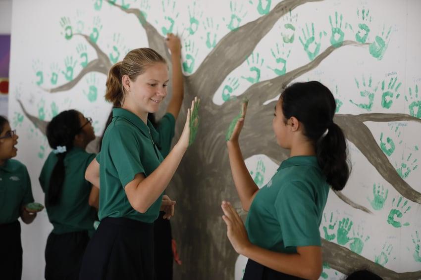 secondary-students-making-art