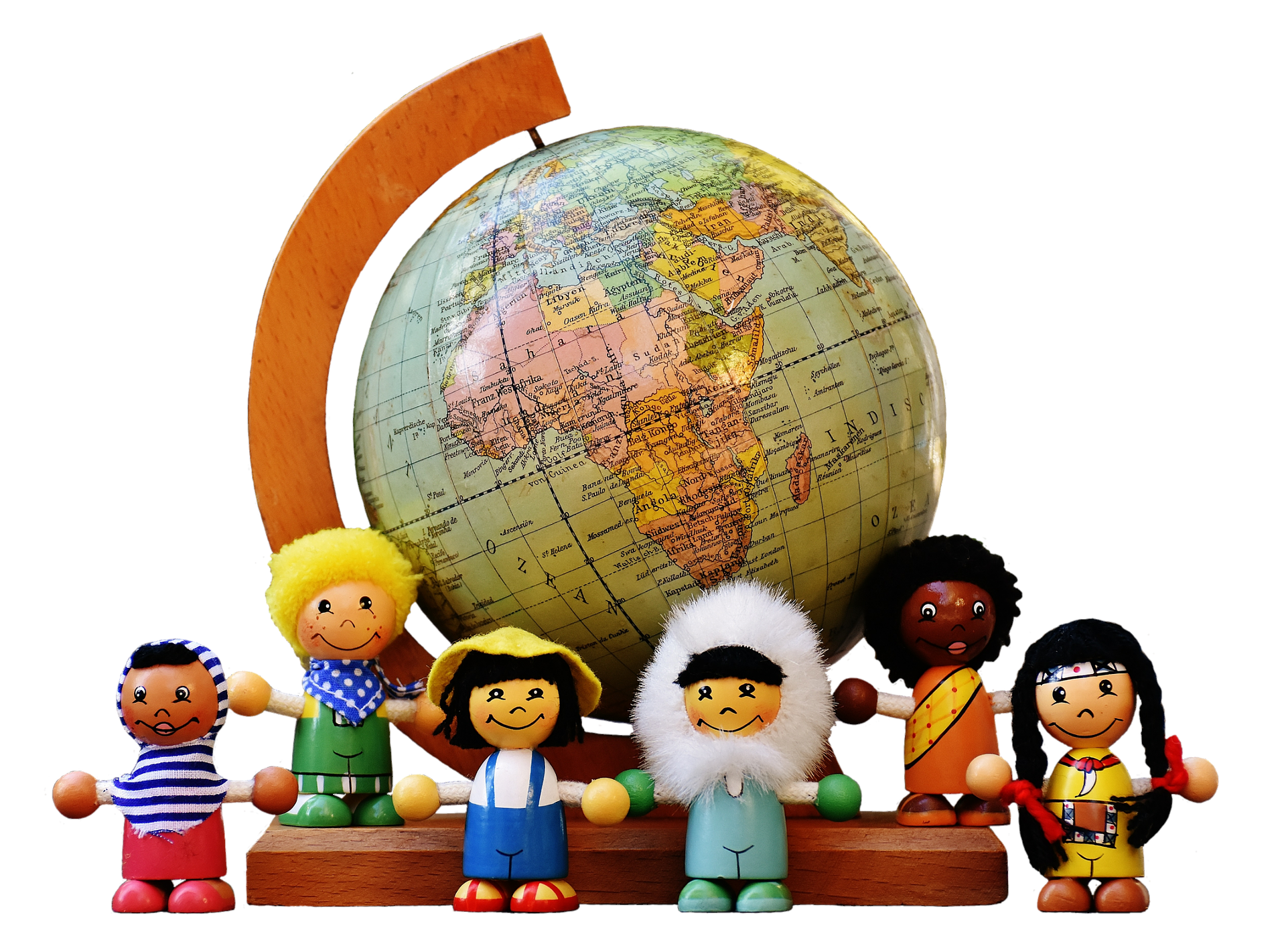 world-globe-with-nationality-representing-dolls